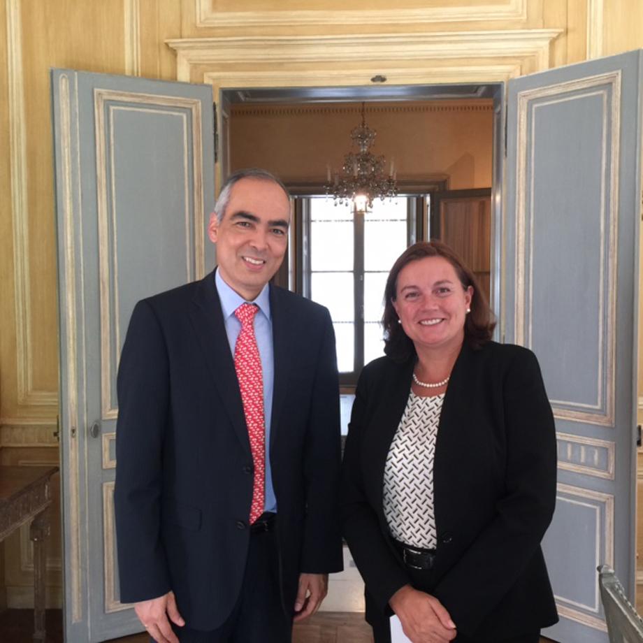 Bienvenida a la nueva Embajadora de la Unión Europea en Colombia