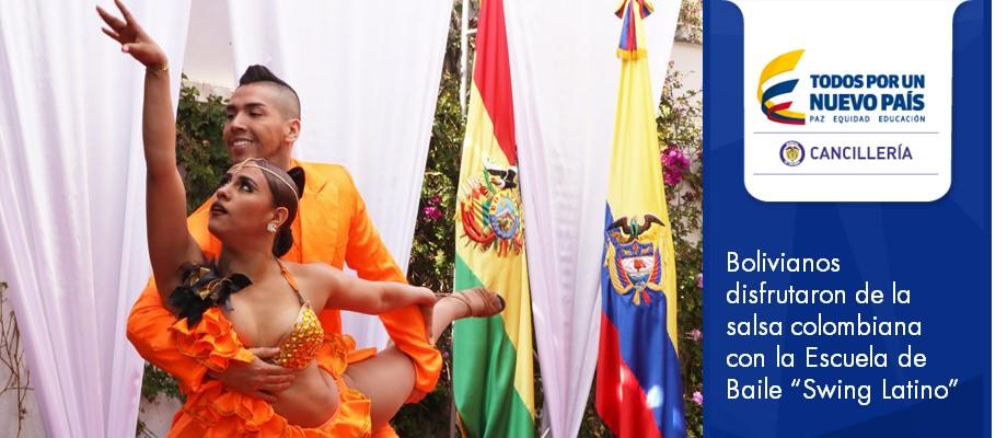 Bolivianos Disfrutaron De La Salsa Colombiana Con La Escuela De Baile Swing Latino Embajada De Colombia En Bolivia